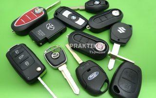 Автоключове с електроника